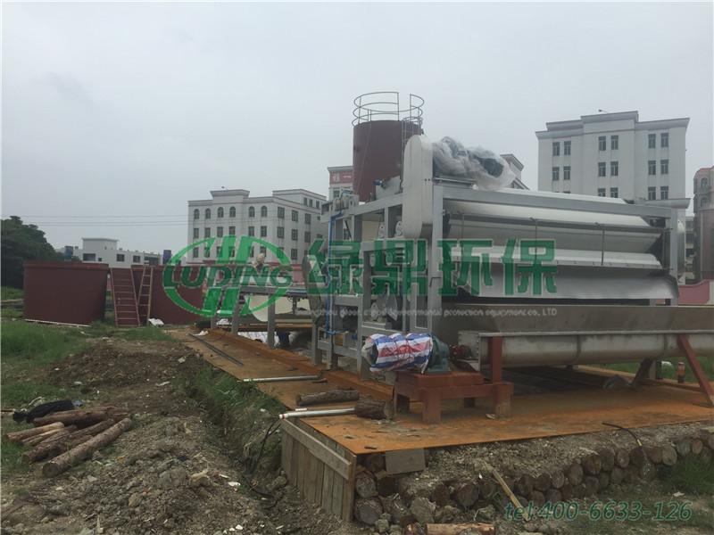 带式压滤机河道清淤工程(广东汕头) 1