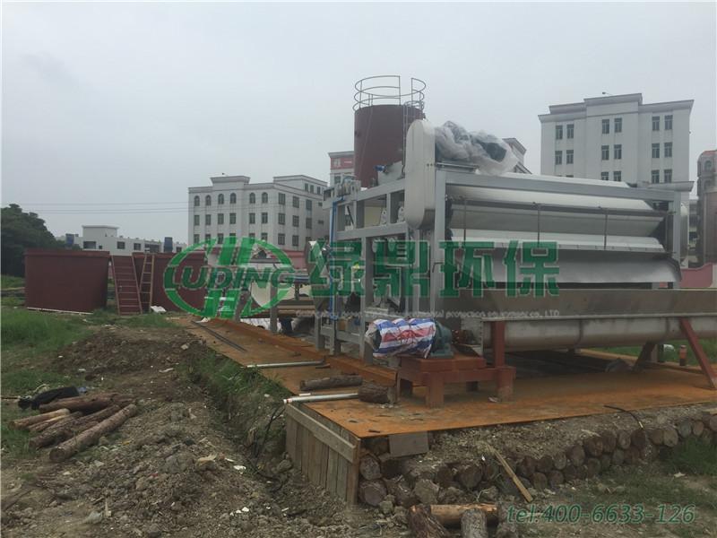 带式压滤机河道清淤工程(广东汕头) 2