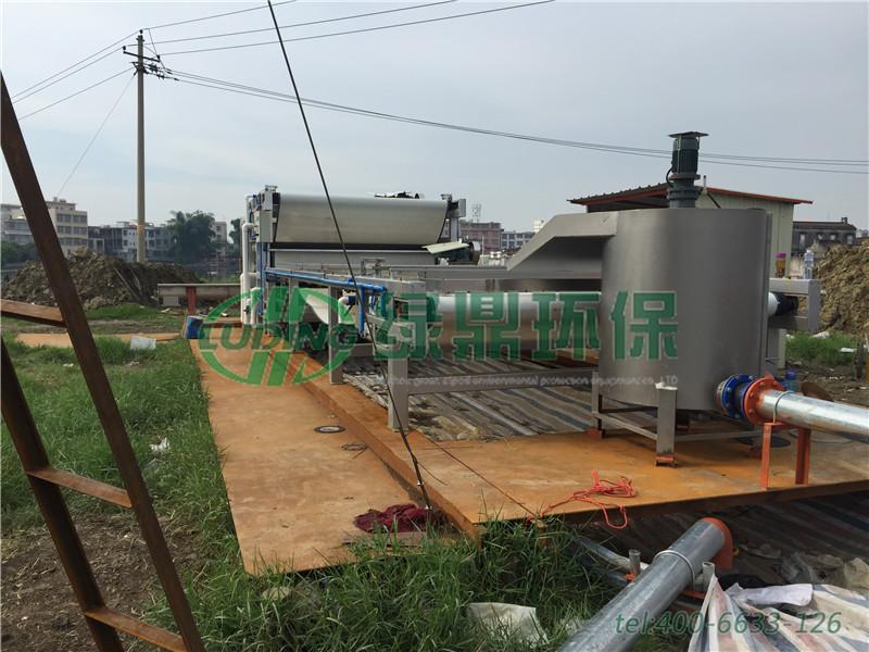 带式压滤机河道清淤工程(广东汕头) 5